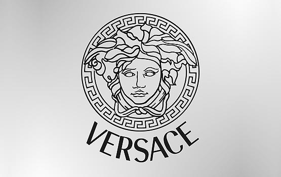 What Is The Design Called Around The Versace Logo